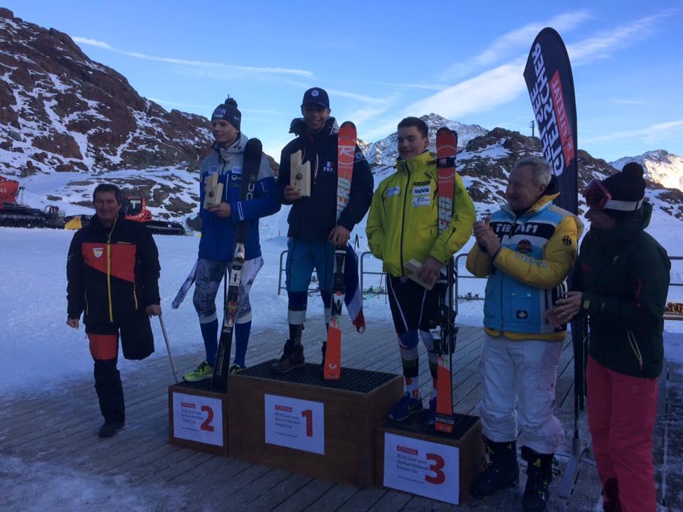 Coupe du Monde IPC ski alpin : la révélation Arthur Bauchet