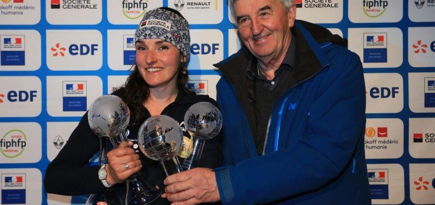 Marie Bochet & Arthur Bauchet globes de cristal alpins 2019