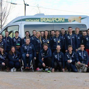 Présentation des équipes de France ski et snowboard 2020