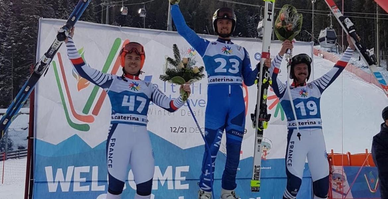 19es Deaflympics d'hiver :  cinq médailles pour les Bleus