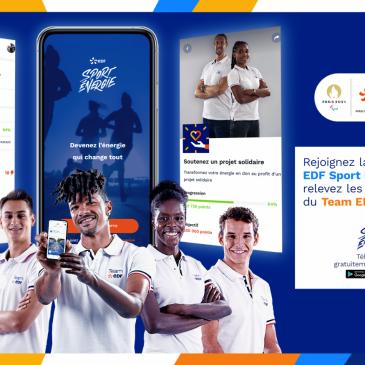 Soutenez la FFH avec l'appli EDF Sport Énergie
